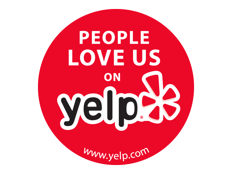 People Love Us on Yelp! Badge